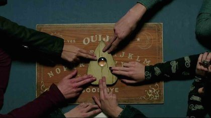 Snapchat Ad Ouija board