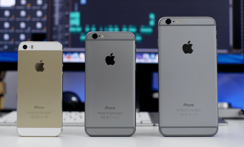 Apple iPhone SE and iPhone 6 and iPhone 5S