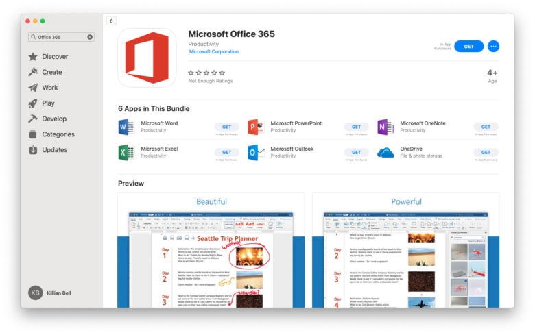 Microsoft Office 365 Is Now Available On Mac App Store
