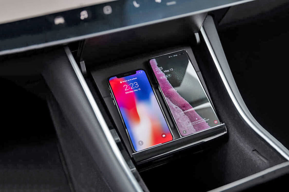 Tesla launches wireless charging pad for Model 3